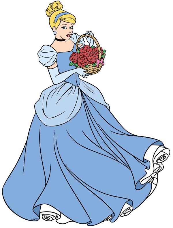 600x790 Cinderella Clip Art 3 Disney Clip Art Galore