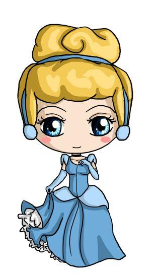 300x554 Drawn Disney Fat Cinderella