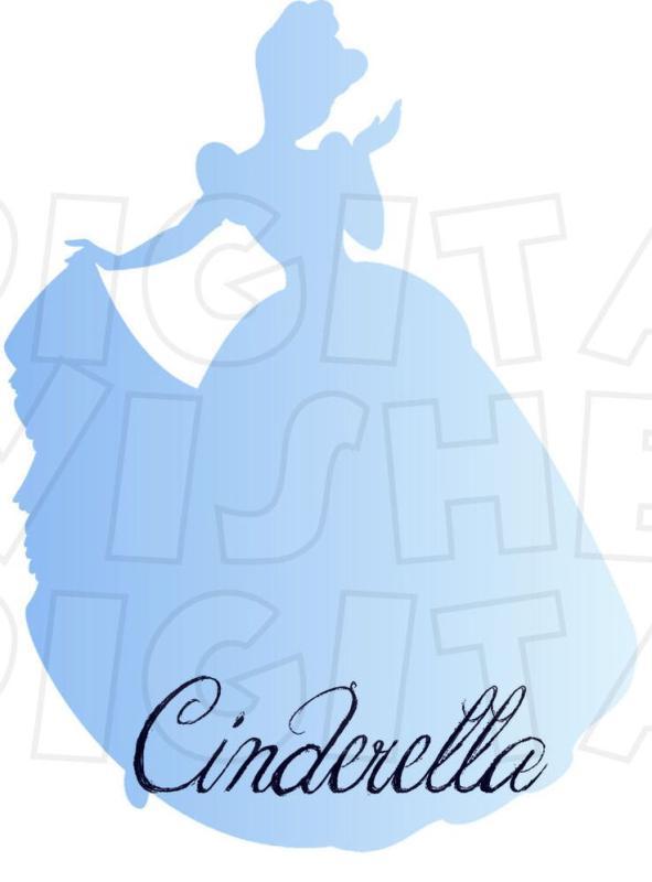 591x800 Disney Character Silhouette Clip Art