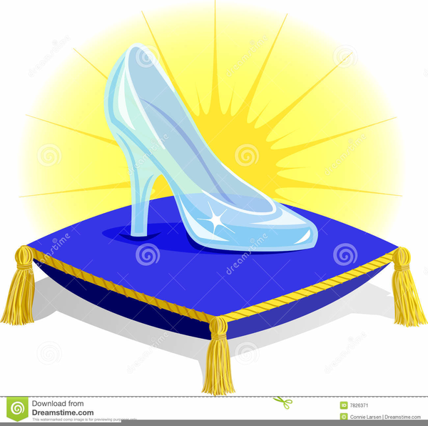 600x596 Cinderella Glass Slipper Clipart Free Images