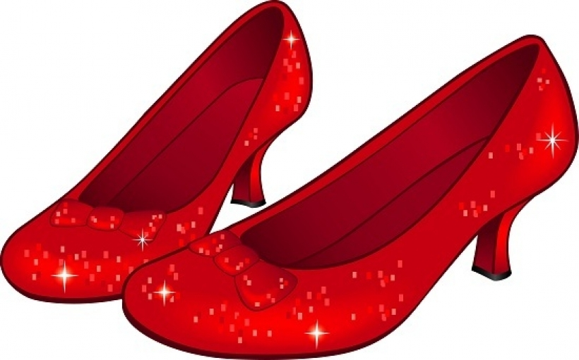 820x511 Wizard Of Oz Ru Slippers Clipart Clip Art Librarypng Ruby Slippers