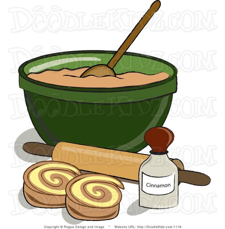 Cinnamon Roll Clipart