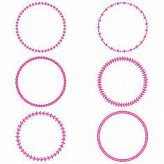236x236 Gold Circle Frames, Circle Frame Clip Art, Round Frame Clip Art
