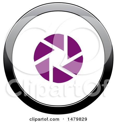 450x470 Clipart Of A Photography Aperture Shutter Circle Design