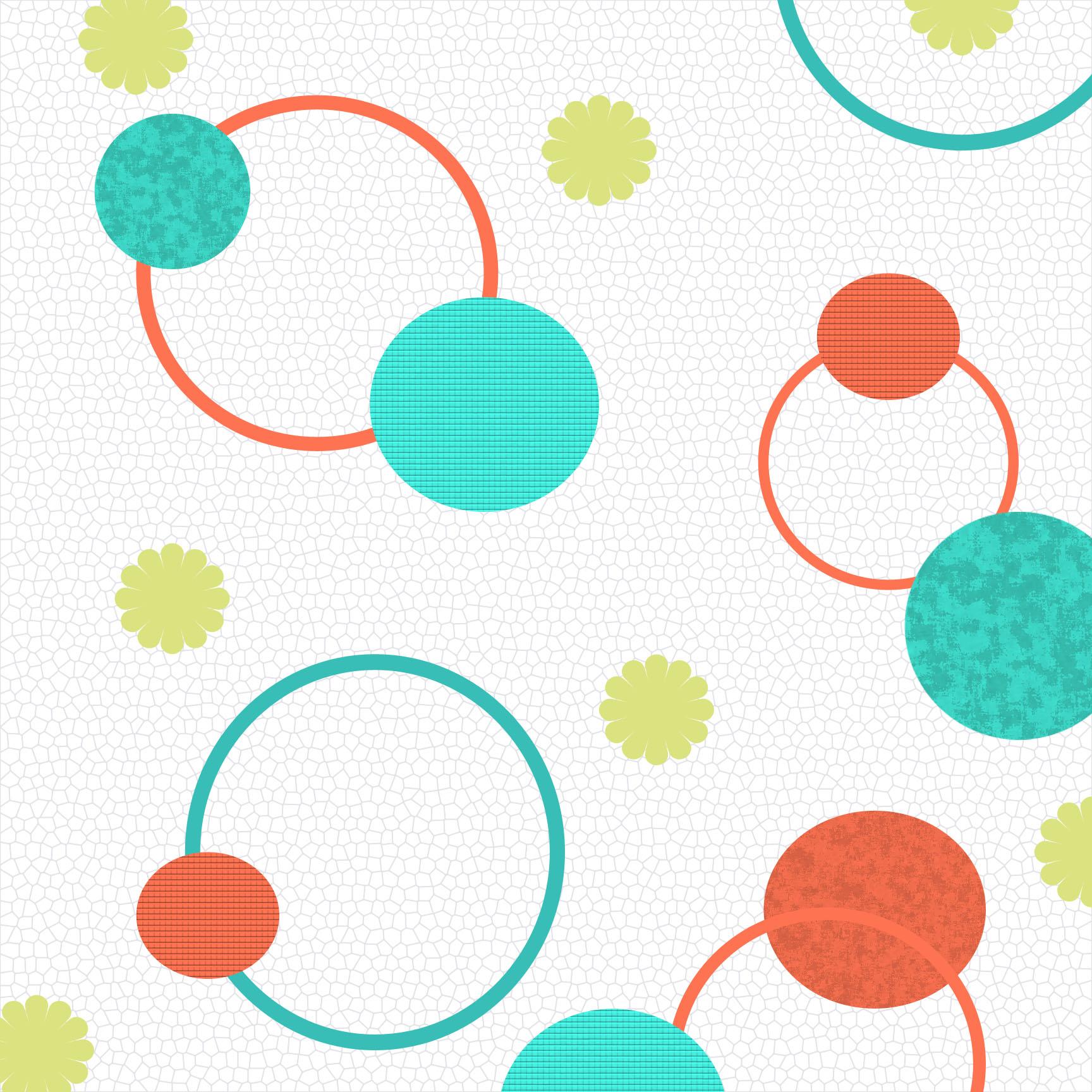 1728x1728 Pattern Circles Clipart