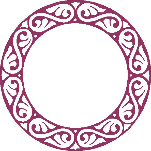 594x596 Blue Circle Clip Art S Monogram Letters Clip Art Circle