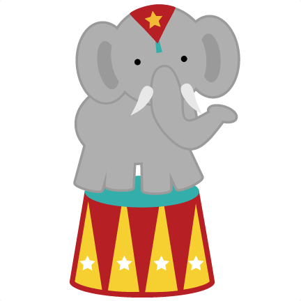 432x432 Circus Elephant Png Svg For Clipart Back To School Carnival