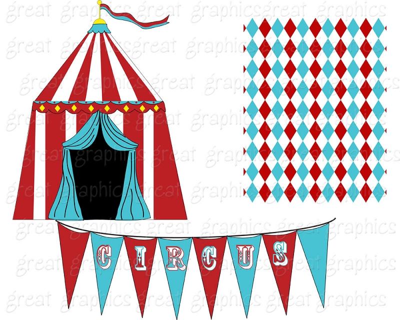 800x640 Free Vintage Circus Clip Art Circus Clipart Circus 1