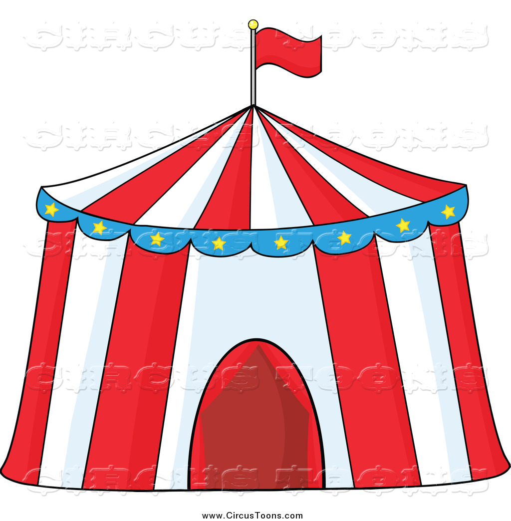 1024x1044 Circus Clipart Of A Big Top Tent By Hit Toon