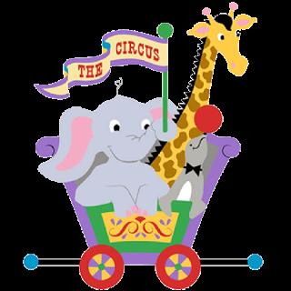 Circus Elephant Clipart