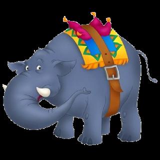 320x320 Circus Elephant'S