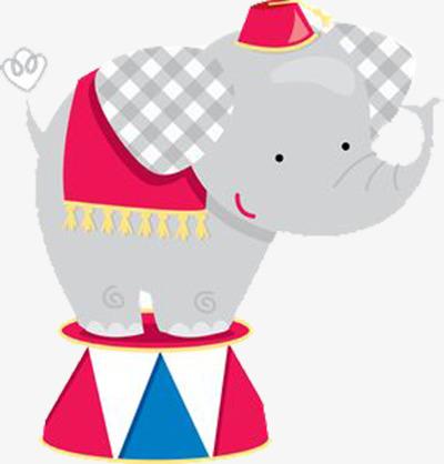 400x418 Circus Elephant, Decorative Material, Elephant, Circus Png Image