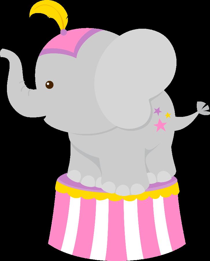 727x900 Cute Circus Elephant Clipart Clip Art, Scrap
