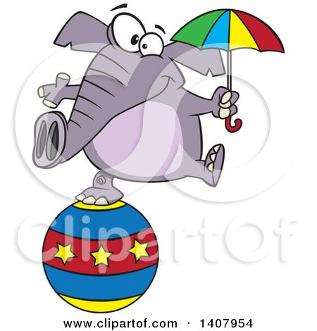 450x470 Royalty Free Stock Illustrations Of Elephants By Toonaday Page 1