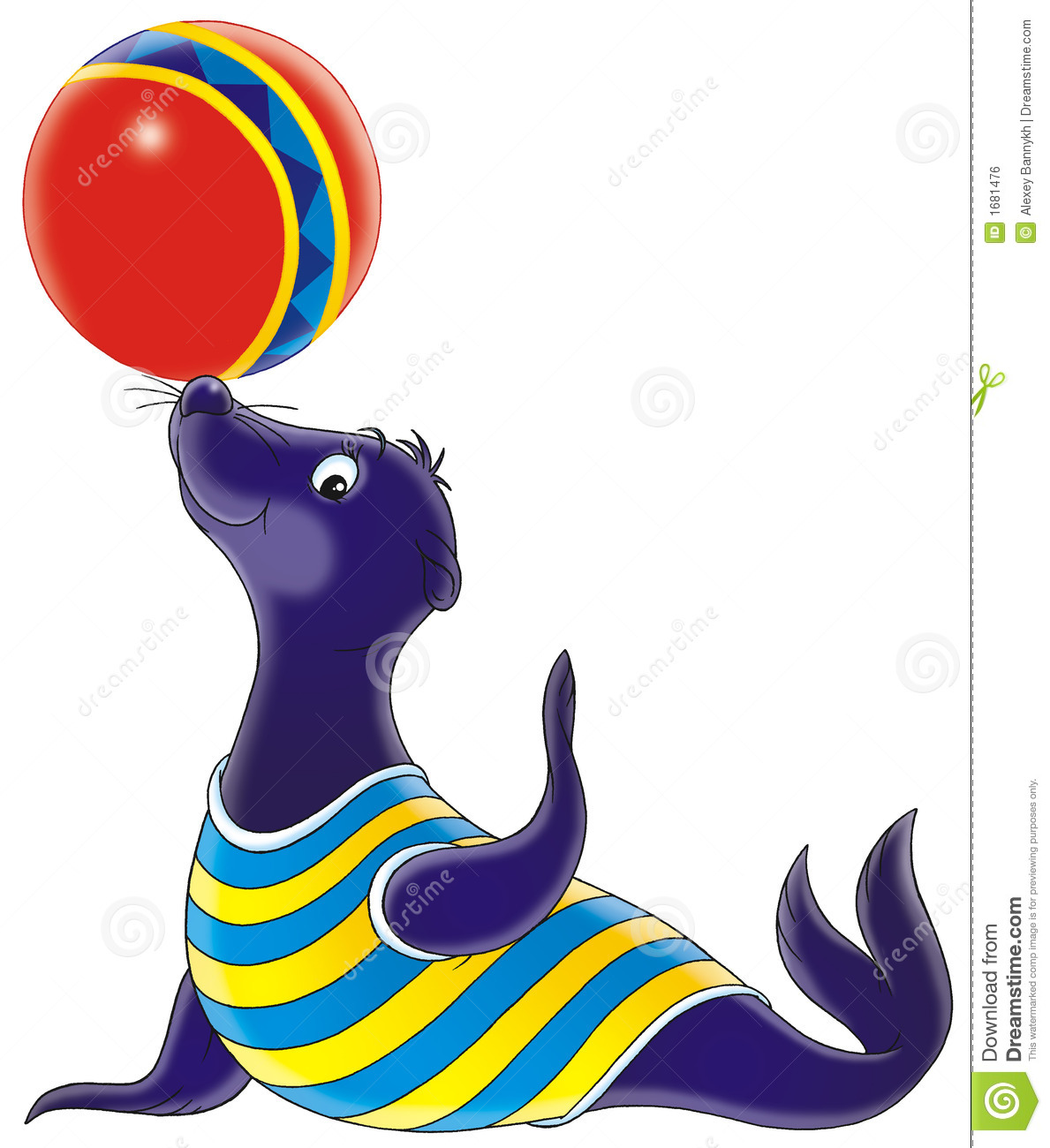 1189x1300 Seal Clipart Circus Tiger 3888203