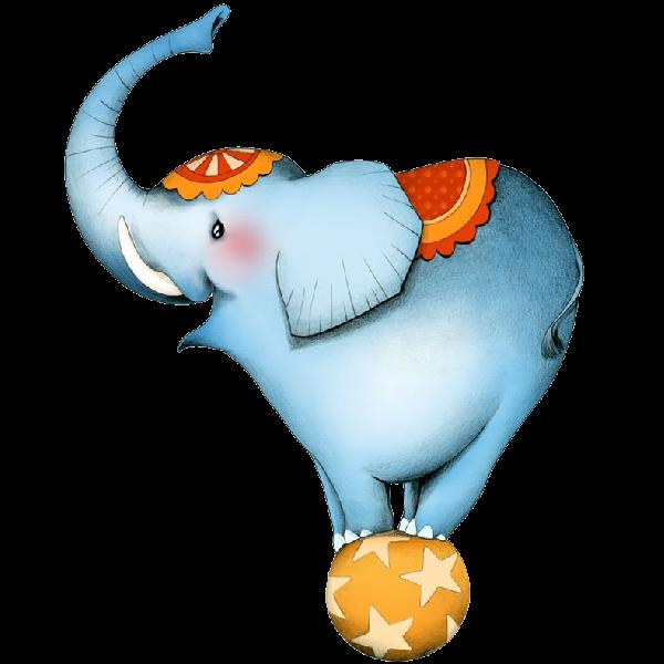 600x600 Cartoon Circus Elephant 3.png