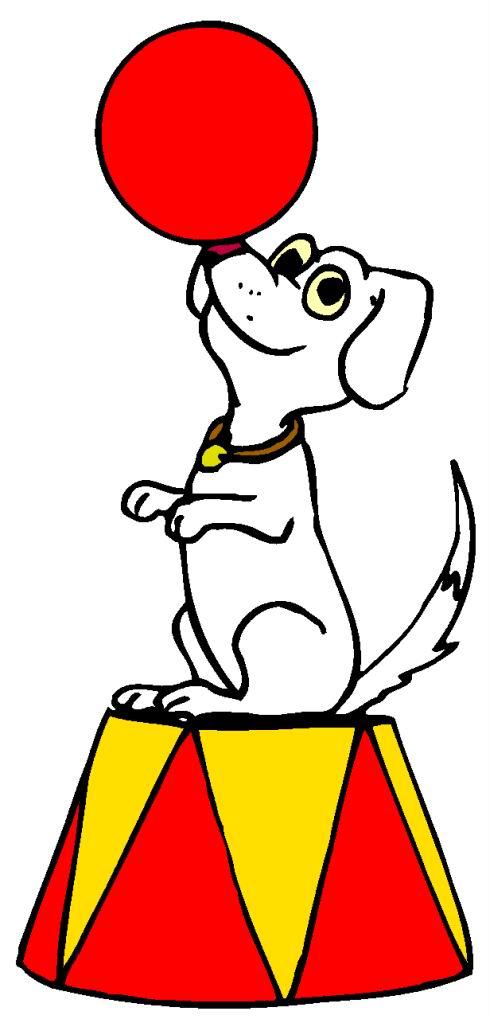 490x1019 Circus Clip Art Circus Dogs Clipart Panda