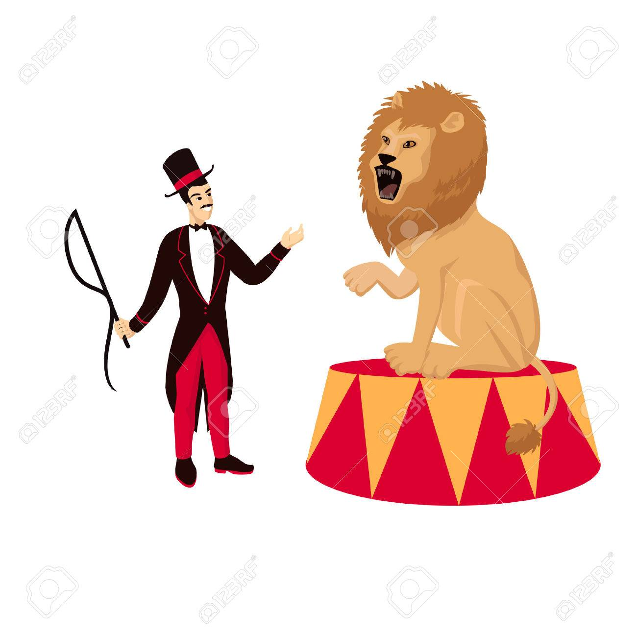 Circus Ringmaster Clipart
