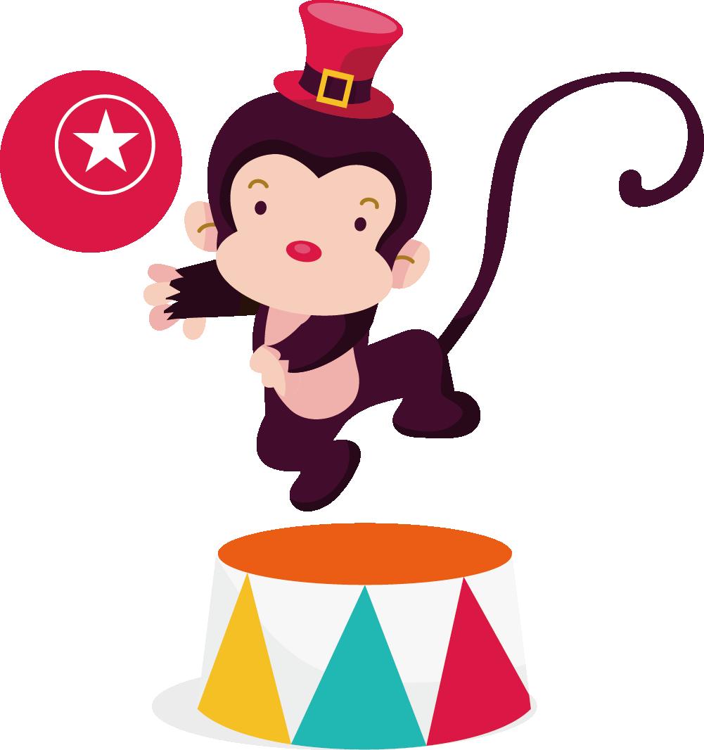 1001x1066 Circus Ringmaster Cartoon Clip Art