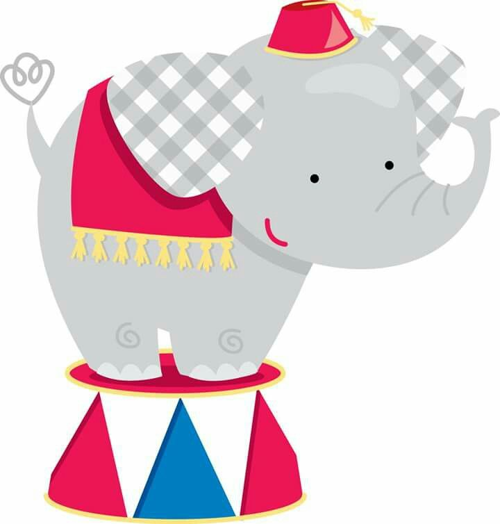 720x754 Elefante Clipart Y Dibujos Clown Party, Circus