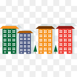 260x260 Cartoon City Building Png, Vectors, Psd, And Clipart For Free
