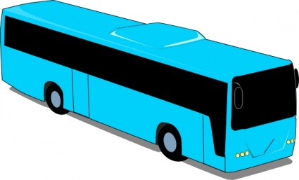 425x257 Free Download Of Red Travel Bus Clip Art Vector Graphic
