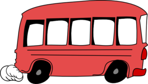 297x168 Red Bus Clip Art