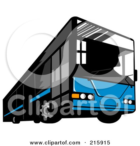 450x470 Royalty Free (Rf) Clipart Of City Bus, Illustrations, Vector