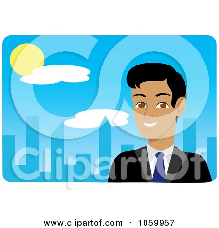 450x470 Royalty Free Vector Clip Art Illustration Of A Park And City