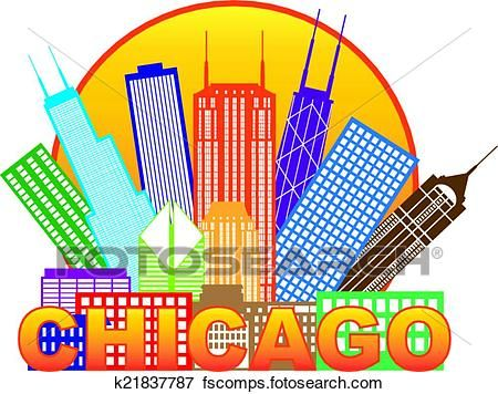 450x356 Simple Chicago Clipart Clip