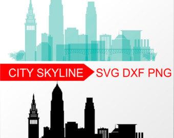 340x270 Svg Skylines Etsy