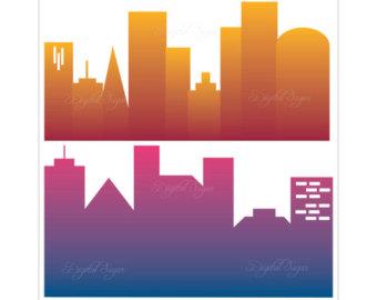 340x270 City Clip Art Etsy