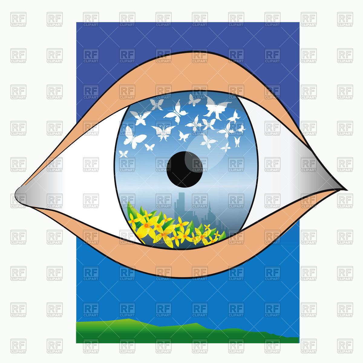 1200x1200 Reflection In An Eye