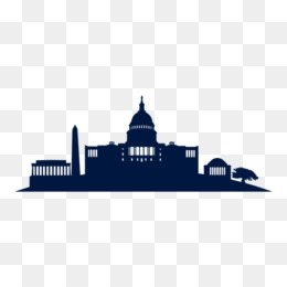 260x260 Washington, D.c. Skyline Silhouette Clip Art