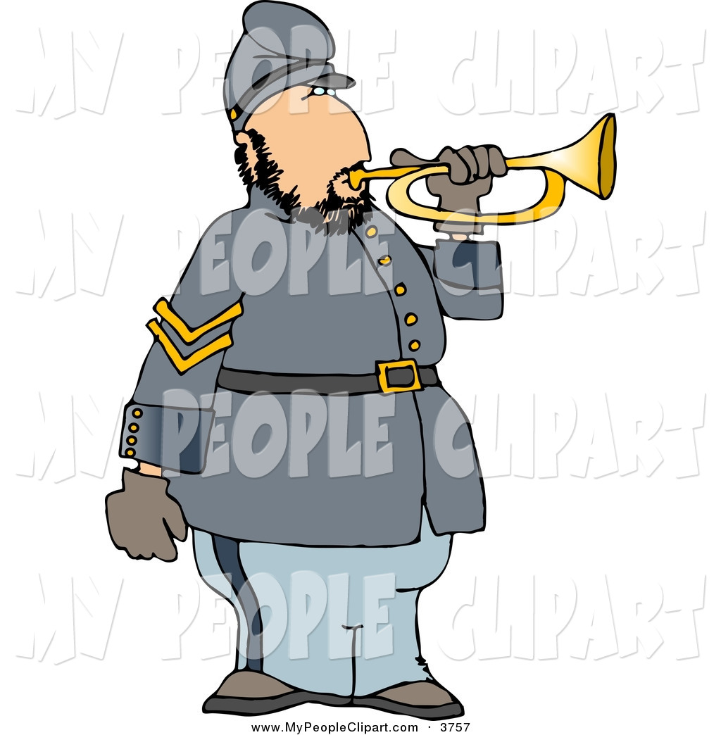1024x1044 Cliprt Of Whitemerican Civil War Soldier Blowing Into