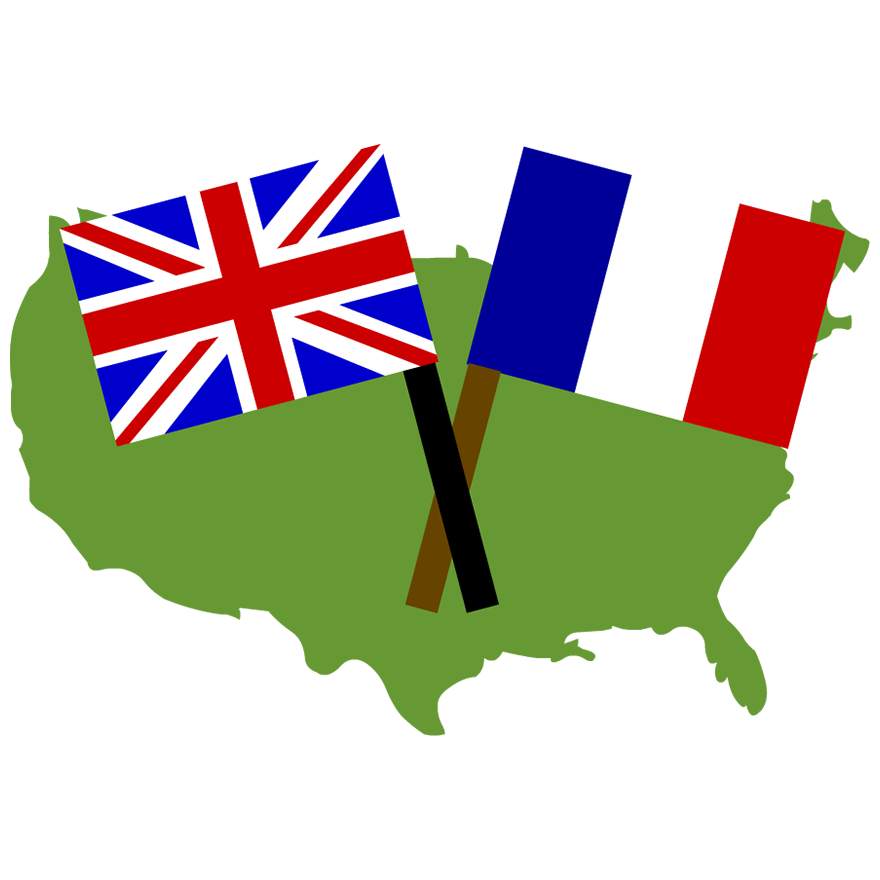 880x880 British Flag Clipart French And Indian War