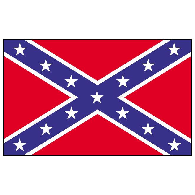 660x660 Confederate Vector Flag 3