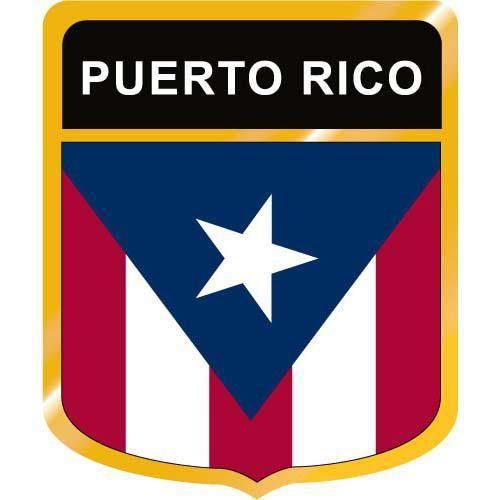 500x500 Puerto Rico Flag Crest Clip Art