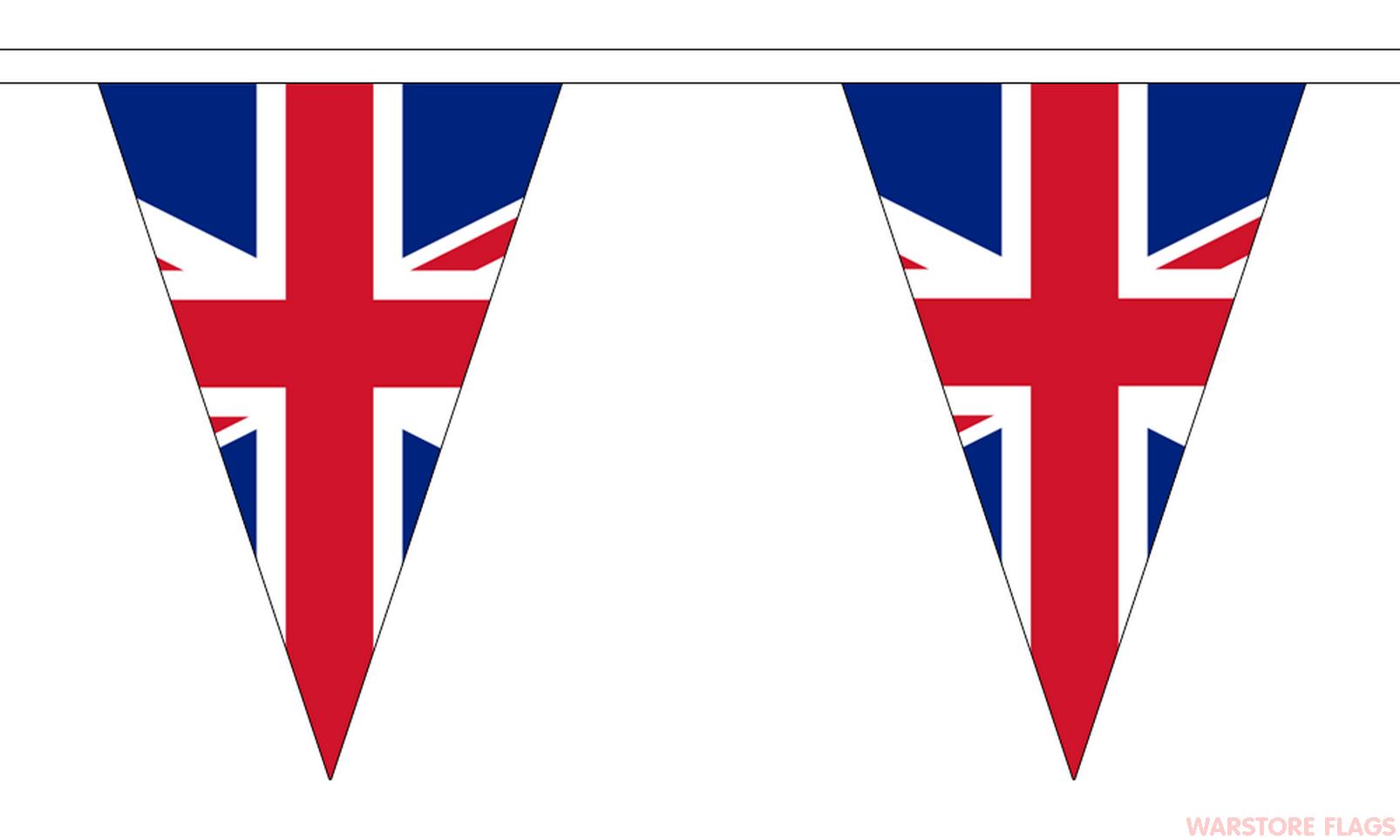1606x964 Union Jack Triangular Bunting