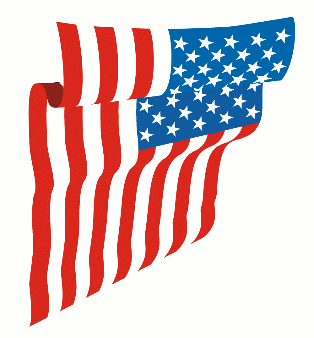 1000x1076 American Flag Clip Art Images Free