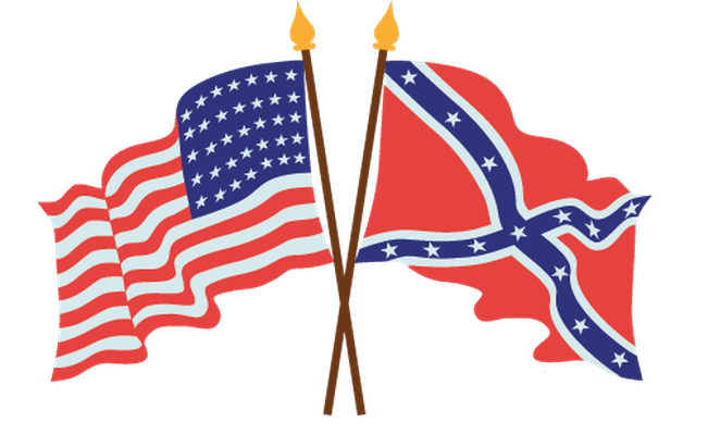 651x399 American Civil War Flags Clipart The Arts Image Pbs