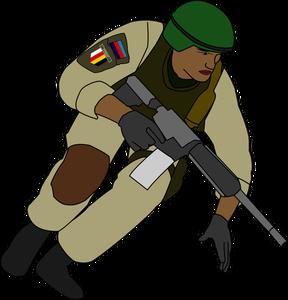 Civil War Soldier Clipart