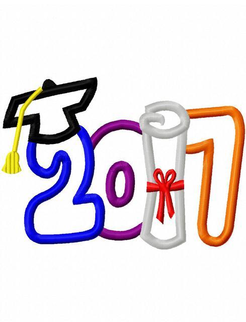 489x640 Clip Art Graduation 2017