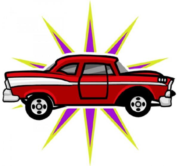 600x555 Free Classic Car Clipart Clipartmonk