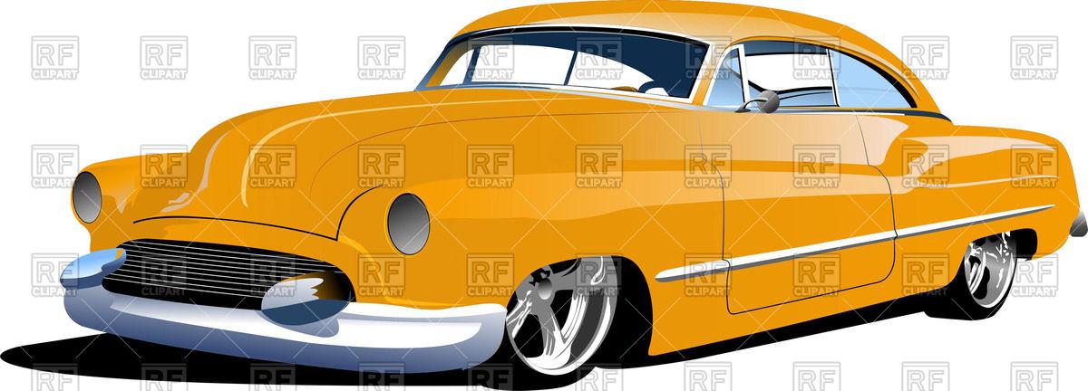 1200x432 Retro Car