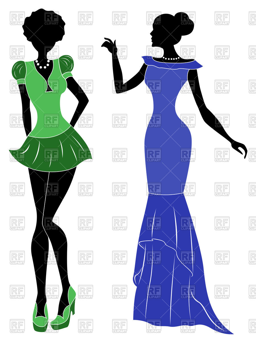 900x1200 Attractive Graceful Ladies In Short Modern And Long Classic