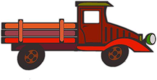 Classic Truck Clipart
