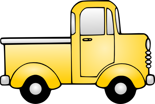 600x404 Toy Truck Clip Art Truck Clip Art Transportation Illustrations