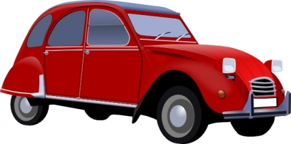 425x210 Vintage Vehicle Cliparts