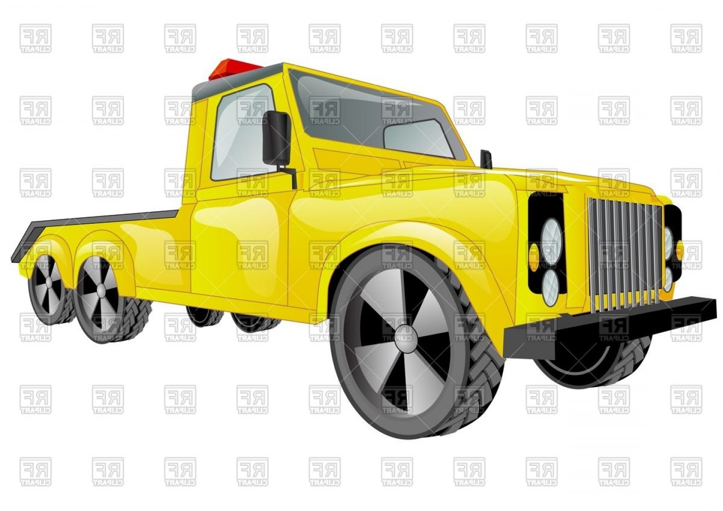 1440x1018 Yellow Tow Truck Car Vector Clipart Createmepink
